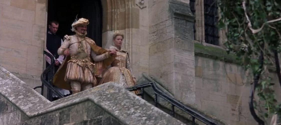 Wedding dress in Shakespeare in love. Photo: Miramax/Universal