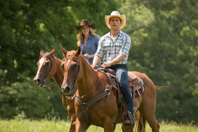 Britt Robertson and Scott Eastwood star in The Longest Ride.