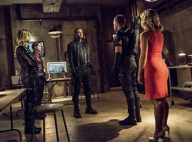The Arrow Team Back Together