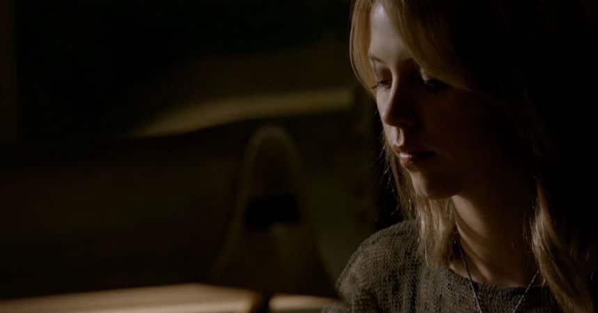 Freya writes to Rebekah. Photo: CW.