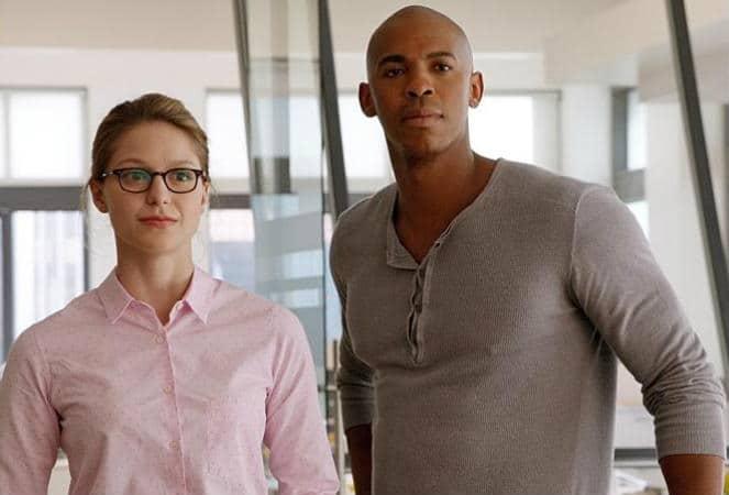 Kara and James Olsen Supergirl