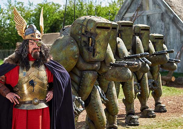 Fake Odin and his Mire Warriors.