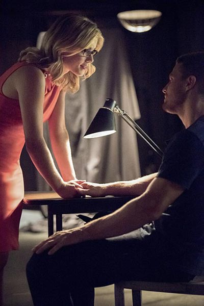 Oliver and Felicity as a couple.