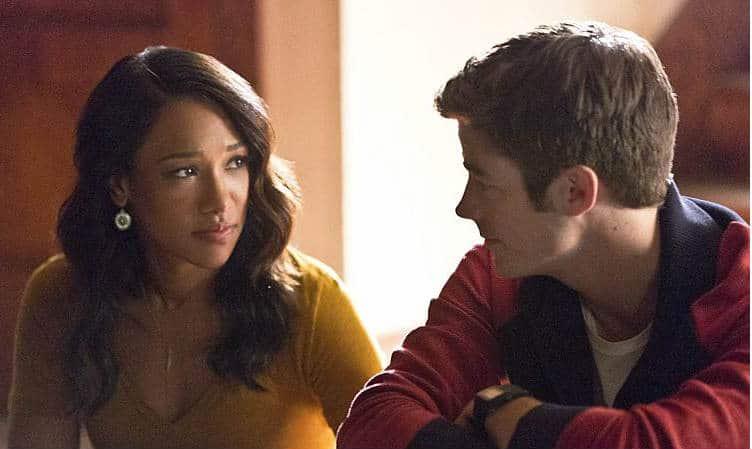 The Flash E3 - Iris and Barry