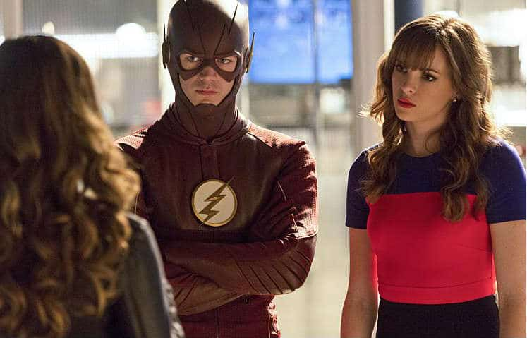 The Flash E3 - The Flash and Caitlin