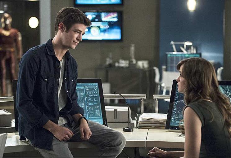 The Flash E4 - Barry and Caitlin