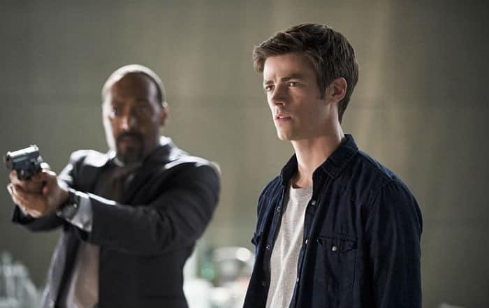 The Flash S2E1 (Barry and Joe)