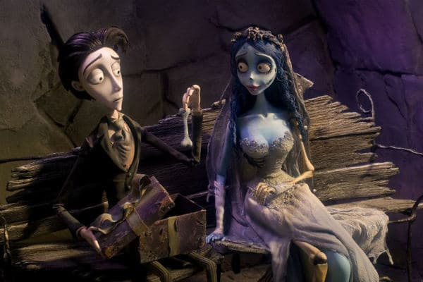 Corpse Bride; 150 of the Best Gothic & Paranormal Romance Period Dramas