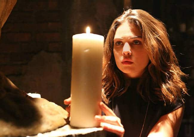 Davina's casts a spell to protect Hayley temporarily from the curse. Photo: CW.