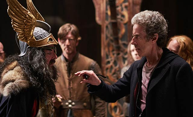 The Doctor with fake Odin.