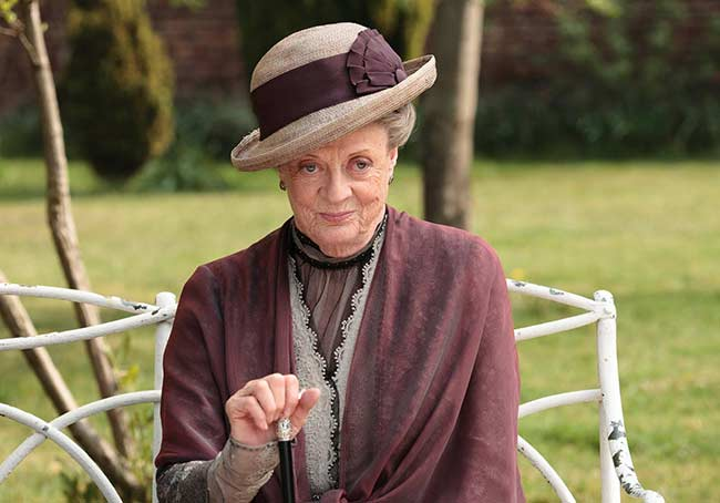 The 12 Best Dowagerisms of Downton Abbey