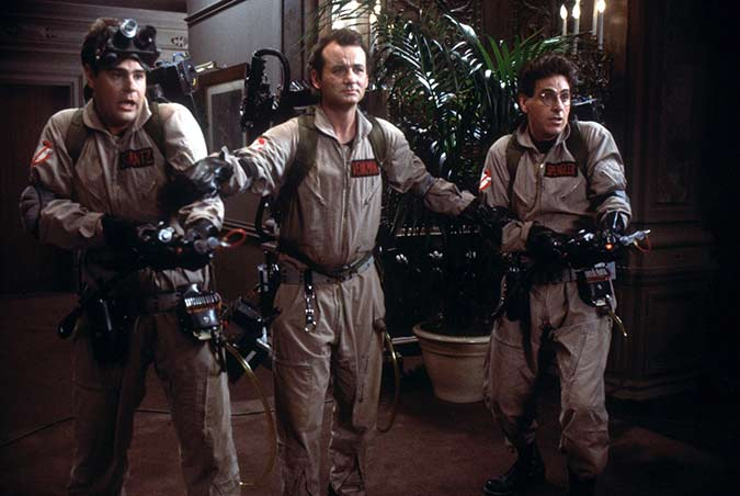 Not-So-Scary Movies for Halloween - Ghost Busters