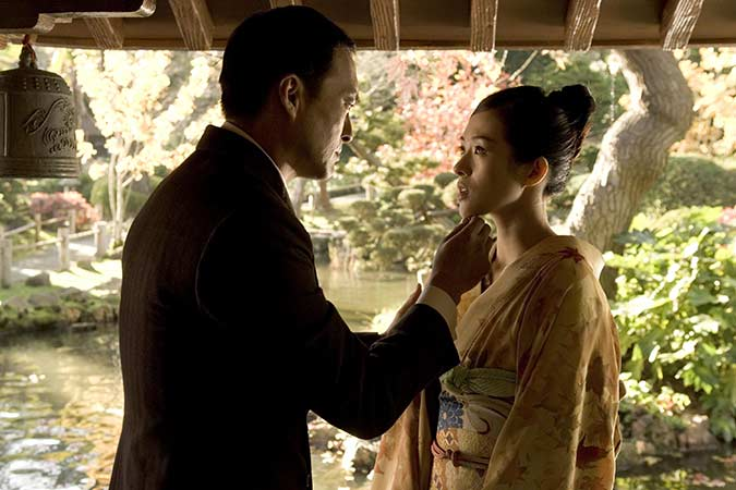 Sayuri and The Chairman from Memoirs of a Geisha