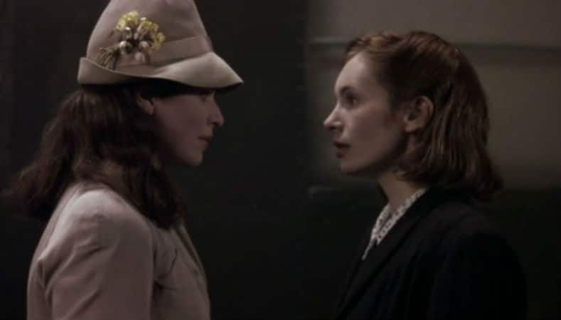 Anna and Lotte reunite on the brink of World War II. Photo: Miramax.