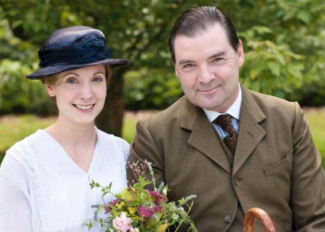 Downton Abbey Bates and Anna Wedding