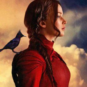 Mockingjay Katniss with Mockingjay