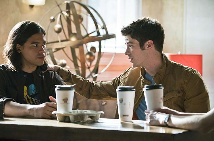 The Flash - The Darkness and the Light Recap - Cisco and Barry
