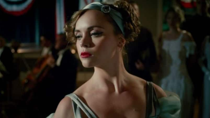 Christina Ricci as Zelda Sayre Fitzgerald in Z: The Beginning of Everything. Period Drama Review Archive