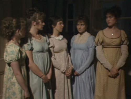 Pride and Prejudice 1980 - Bennet Sisters