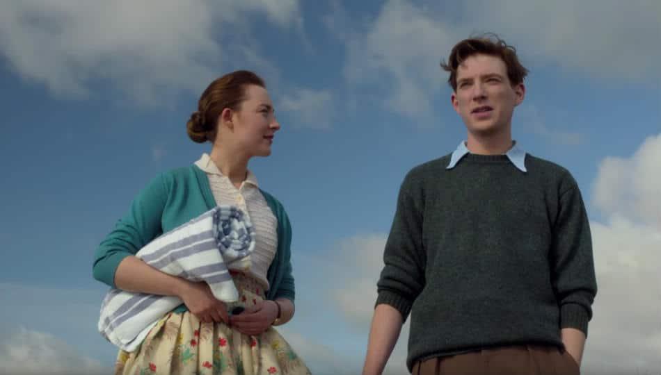 brooklyn - Saoirse Ronan and Domhall Gleeson