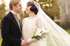 """Mary and Matthew wedding in """"Downton Abbey"""" Photo: ITV/PBS"""
