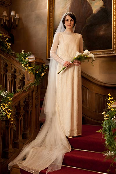 12 Memorable 20th Century Period Drama Wedding Gowns