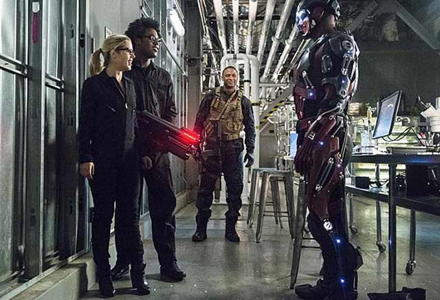 Ray Palmer, Felicity, Diggle, and Curtis. Lost Souls