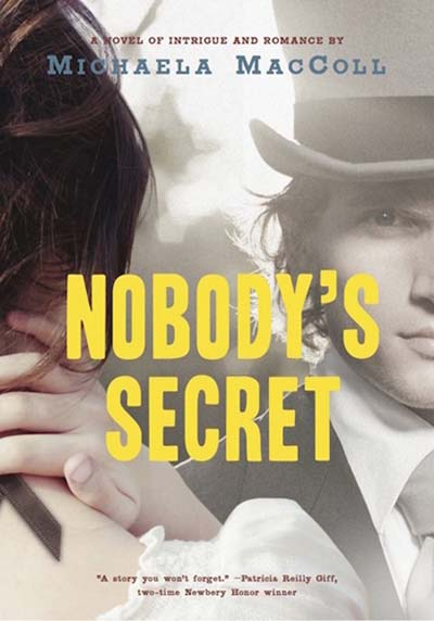 Nobody's Secret Book Cover (Historical Fiction about Emily Dickinson)