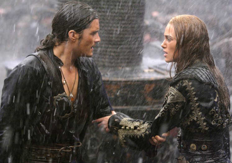 pirates of the Caribbean. Romantic Moments in Period Dramas