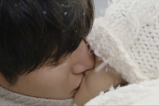 Classic Romantic Moment Series: K-Drama Healer – Unexpected Kiss in the Snow