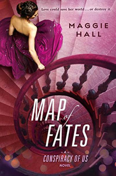 Book - Map of Fates Maggie Hall - YA Novels of 2016