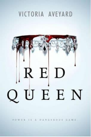Book - Red Queen - 10 YA Fantasy Novels on My Shelf