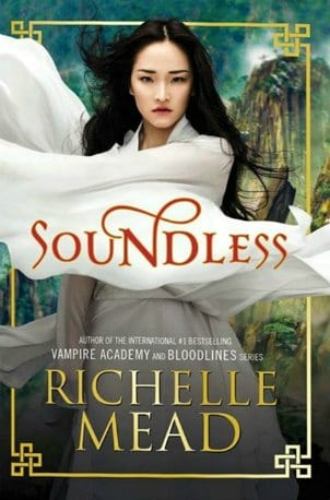 Book - Soundless Richelle Mead - 10 YA Fantasy Novels on My Shelf
