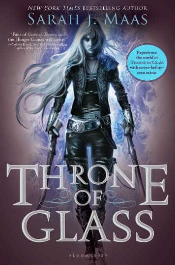 Book - Throne of Glass - 10 YA Fantasy Novels on My Shelf