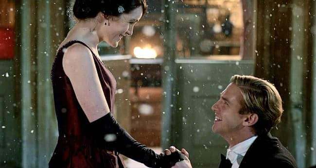 Downton Abbey Christmas Proposal - Mary and Matthew