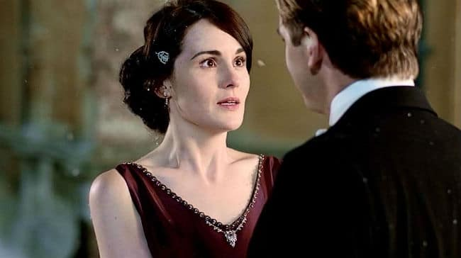 Downton Abbey Mary Crawley Proposal Joy - Mary and Matthew
