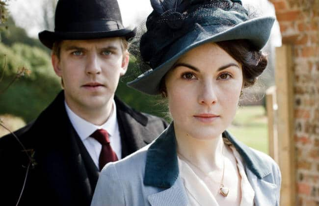 Downton Abbey Mary and Matthew