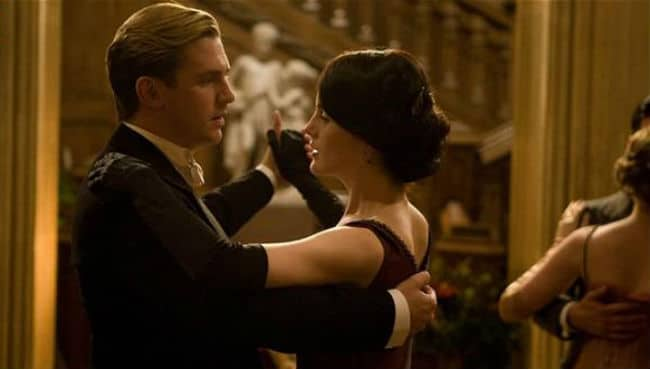 Downton Abbey Matthew and Mary Christmas Dance
