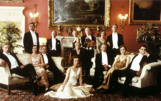 Kristen Scott Thomas in Gosford Park (2001) #CostumeDesign ...  |Gosford Park Costumes