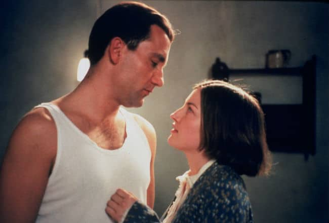 Gosford Park Clive Owen and Kelly Macdonald