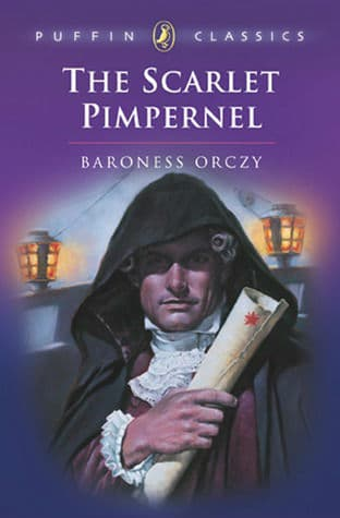 The Scarlet Pimpernel book cover 5