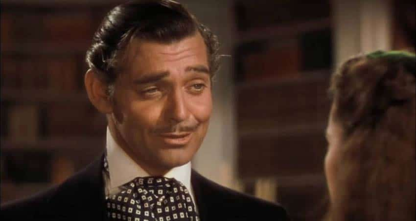 Clark Gable and 25 Times Period Drama Actors Smiled
