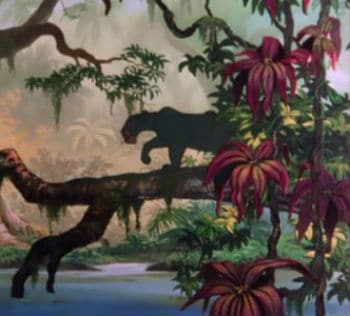 Bagheera and the Opening Scene - The Jungle Book
