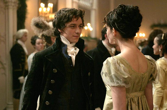 James McAvoy - 25 Times Period Drama Actors Smiled