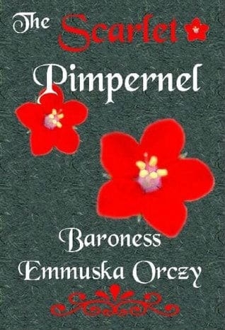 The Scarlet Pimpernel book cover 2