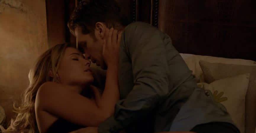 Klaus and Cami in The Originals. Romantic Vampire Heroes