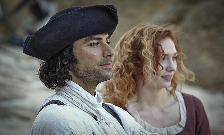 Aidan Turner - 25 Times Period Drama Actors Smiled