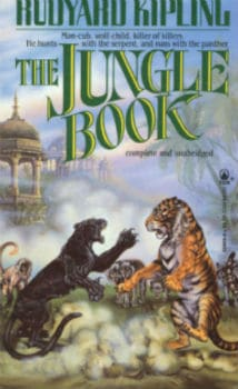 The Jungle Book book cover