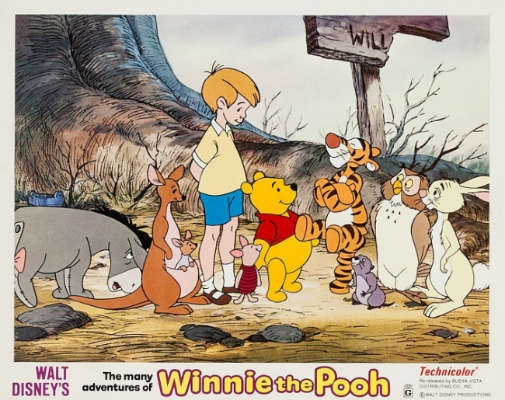 Revisiting Disney: The Many Adventures of Winnie the Pooh