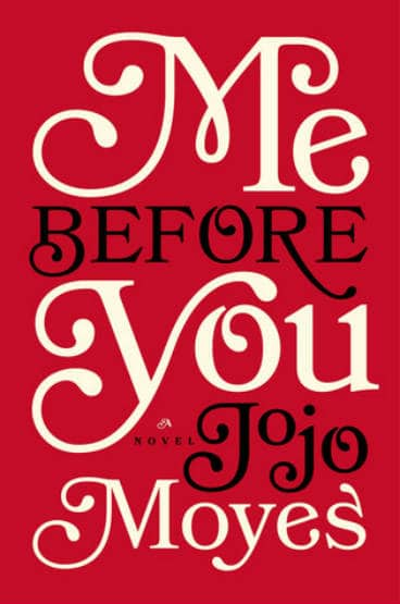 """Book cover of """"Me Before You."""""""
